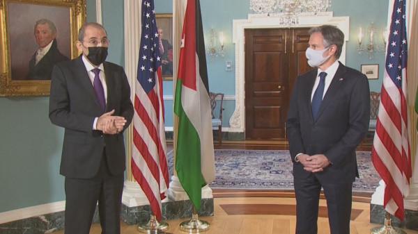 وزير الخارجية الأردني من واشنطن: القدس خط أحمر