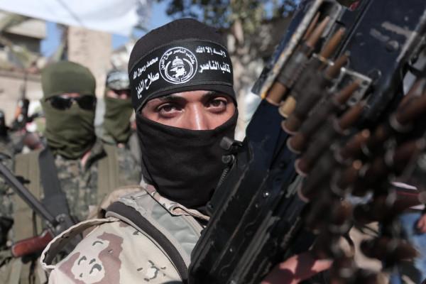 كتائب الناصر صلاح الدين: قصفنا فجر اليوم موقع (كسيوفيم) بأربعة صواريخ