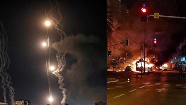 بـ 130 صاروخاً.. كتائب القسام تعلن توجيه ضربةً هي الأكبر لتل أبيب وضواحيها