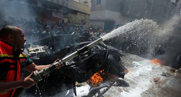 الداخلية بغزة: الدفاع المدني تعامل مع 130 مهمة منذ بدء العدوان على غزة