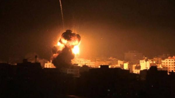 ستة شهداء بقصف لطائرات الاحتلال الاسرائيلي وسط وشرق قطاع غزة