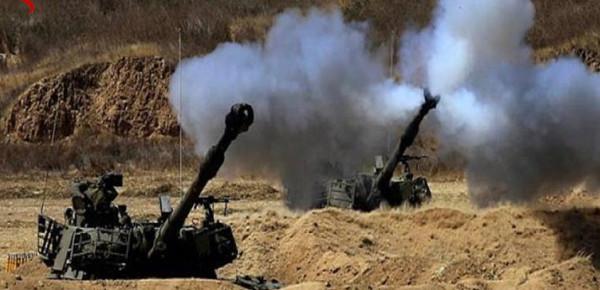 تجدد القصف الإسرائيلي لمناطق قطاع غزة