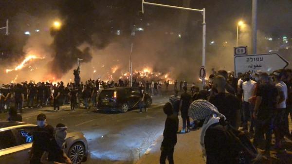 الأحداث تتصاعد بالداخل المحتل.. ومواجهات مسلحة بين الفلسطينيين والمستوطنين