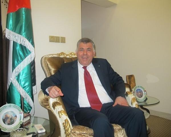 السفير نظمي حزوري يستقبل نائب رئيس برلمان اقليم كردستان
