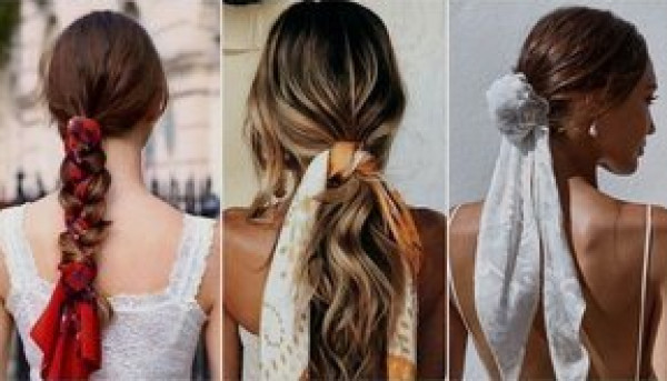 ربطات الشعر .. أخر صيحات الموضة لعام 2021