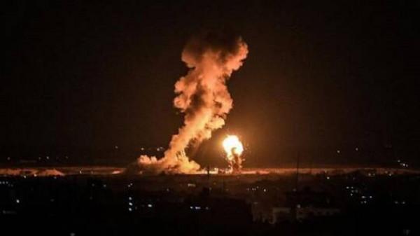 الاحتلال يستهدف برج الأندلس ومقر البنك الوطني الإسلامي وسط غزة