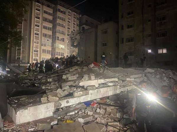 42 شهيداً في مجزرة شارع الوحدة وسط مدينة غزة