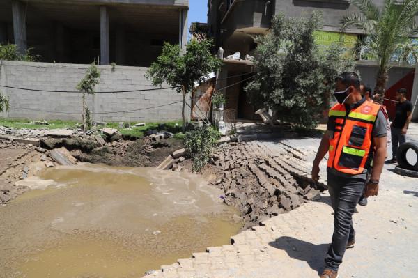 رئيس بلدية جباليا يناشد لإنقاذ قطاع غزة من كارثة بيئية محققة