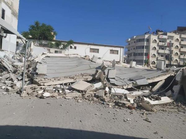 التنمية الاجتماعية تدين قصف مقرها في قطاع غزة