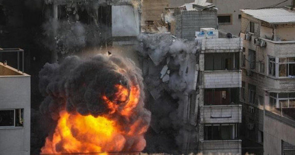 سرحان يستنكر العدوان المتواصل على غزة وتدمير المكاتب الهندسية