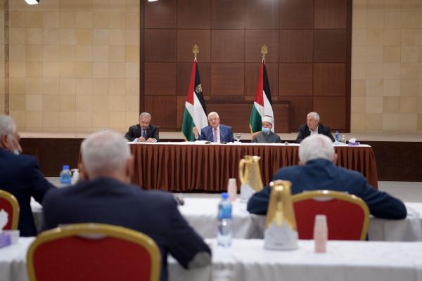 الرئاسة الفلسطينية تصدر بياناً بعد انتهاء العدوان الإسرائيلي على القطاع