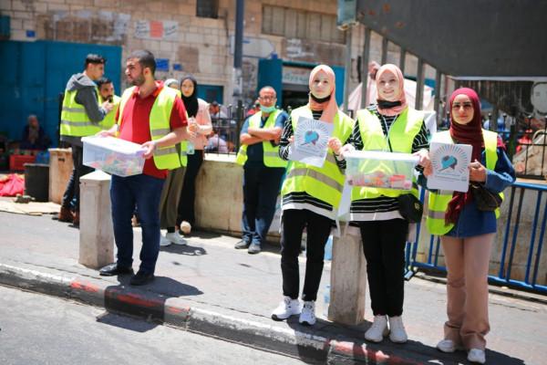 """إطلاق حملة """"من بيت لحم إلى غزة"""""""
