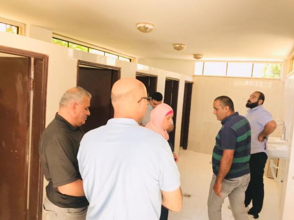 الإغاثة الزراعية تنهي أعمال تأهيل مرافق صحية إنشاء حدائق مدرسية في أريحا والأغوار