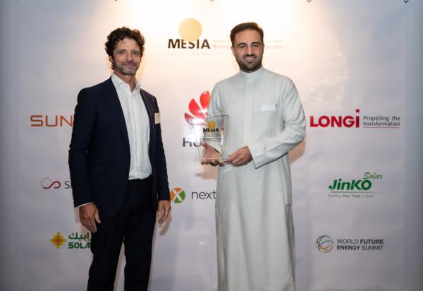 """حاوياتُ """"صحارى الشمسية"""" تحصدُ جائزةَ """"أفضلُ ابتكارٍ"""" على مستوى الشرقِ الأوسطِ وشمالِ أفريقيا"""