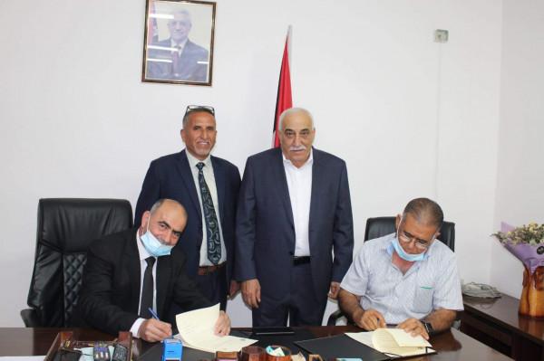 """""""التربية"""" وجمعية البر بأبناء الشهداء توقعان اتفاقية لتعزيز لدعم التعليم المهني في أريحا"""