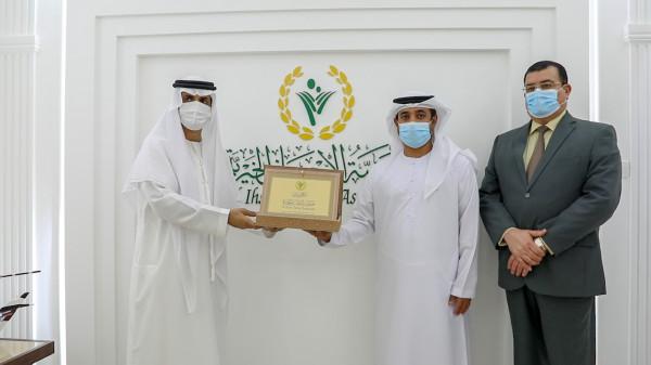 الإحسان الخيرية تستقبل وفداً من الهلال الأحمر الإماراتي للاطلاع على مشاريعها الاستراتيجية