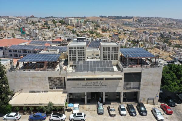"""بلديتا بيت لحم وتورين تتحضران لافتتاح المؤتمر الدولي تحت عنوان """"انتقال الطاقة والسياسات المحلية"""""""