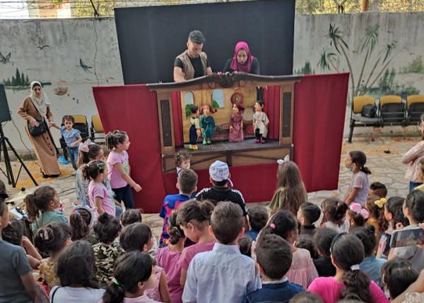 قلقيلية: مديرية الثقافة تستضيف مسرح الثلاجة في حديقة قلقيلية الوطنية