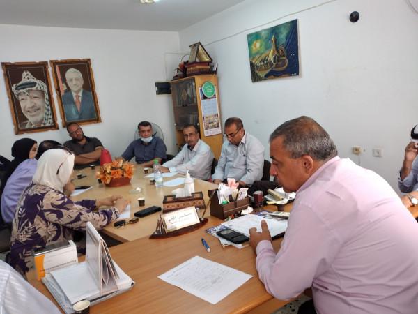 اجتماع المجلس الاستشاري الثقافي في محافظة طولكرم