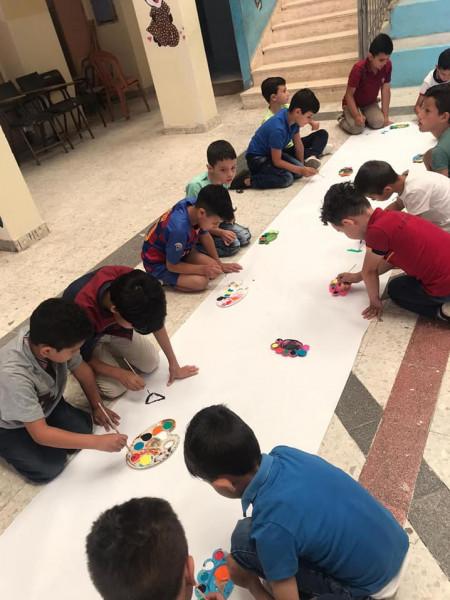 حماية الطفولة بطوباس تنفذ ورشة ترفيهية والتوجيه السياسي يحاضر بمركز حماية وتنمية الطفولة