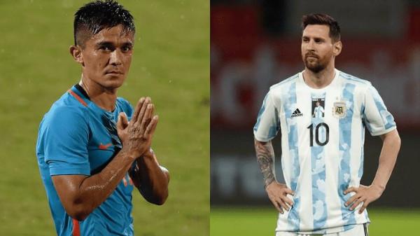 لاعب هندي يتخطى رقم ميسي