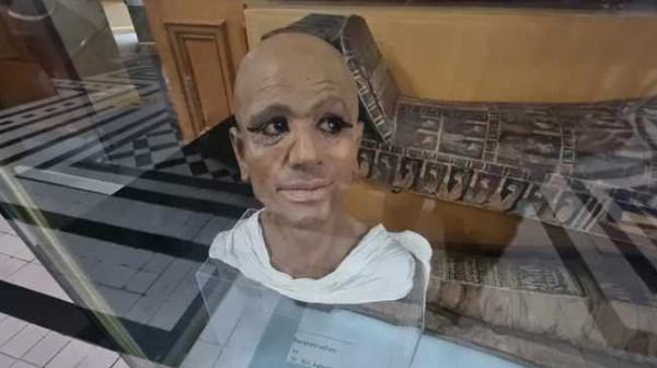 شاهد: مومياء مصرية غريبة تهجرت قسرا على يد ضابط بريطاني