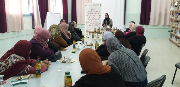 المركز الفلسطيني ينفذ لقاءً حول مشاركة النساء في عمليات التخطيط