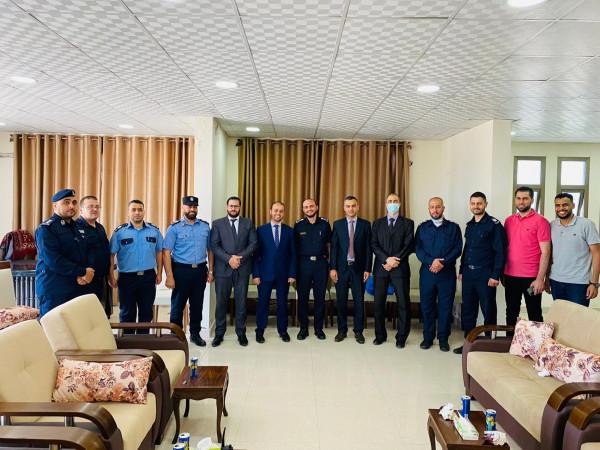 مدير نيابة غزة وشرطة الشاطئ يؤكدان النهوض بجودة التحقيقات وتجسيد قيم العدالة