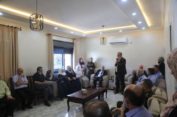 عصام أبو بكر يفتتح المقر الجديد لبيت الفتيات التابع لجمعية دار اليتيم العربي