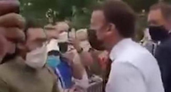 """القضاء الفرنسي يصدر حكمه على """"صافع ماكرون"""""""
