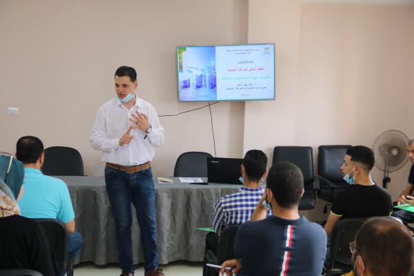 """غزة: """"الشباب والثقافة"""" تفتتح برنامجًا تدريبيًا حول النظام المالي الموحد للمراكز الشبابية"""