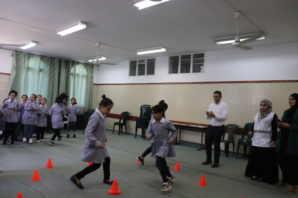 حماية الطفولة في قلقيلية تستهدف عددا من المدارس بسلسلة من الفعاليات