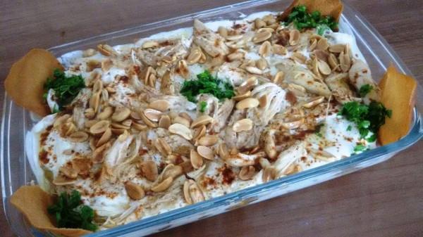 طريقة تحضير فتة دجاج بالأرز