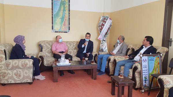 مديرية شمال غزة والكلية العربية التطبيقية تتباحثان سبل التعاون المشترك