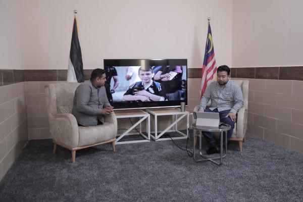 معرض صور إلكتروني بين فلسطين وماليزيا