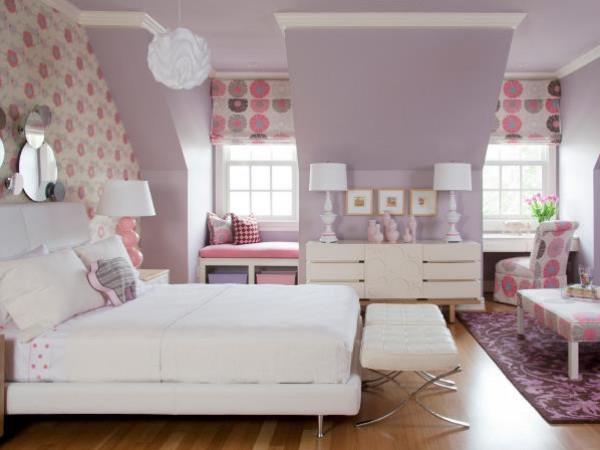 شاهد: أرقى ديكورات غرف النوم بألوان صيفية