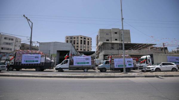 جمعية المستقبل للصم الكبار تنفذ مشروع توزيع الطرود المعيشية للأسر المتضررة بغزة
