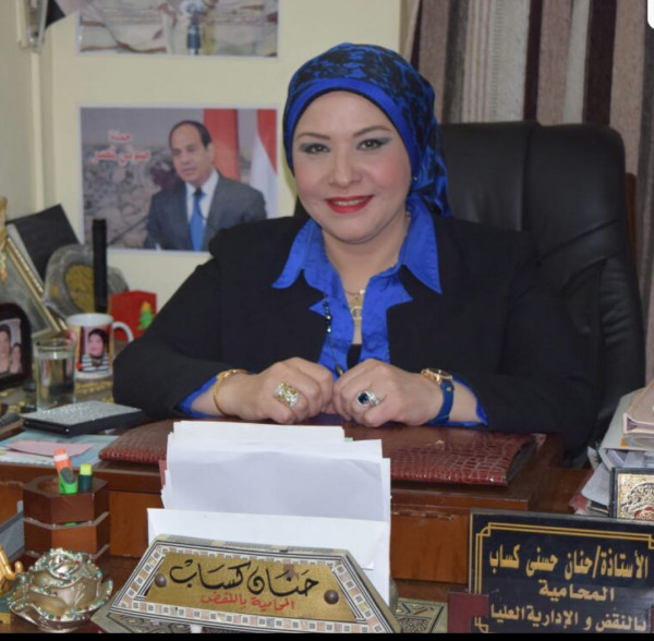 المحامية حنان كساب: المرأة حققت إنجازات مميزة حتى غدت قائدة ملهمة الأجيال القادمة