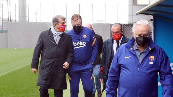 كومان: هذا اللاعب قريب من برشلونة