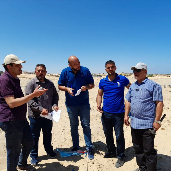 """""""الاقتصاد"""" بغزة : مقالع الرمال تشكل لجنة متابعة مناسيب أراضي الحي الياباني بخانيونس"""