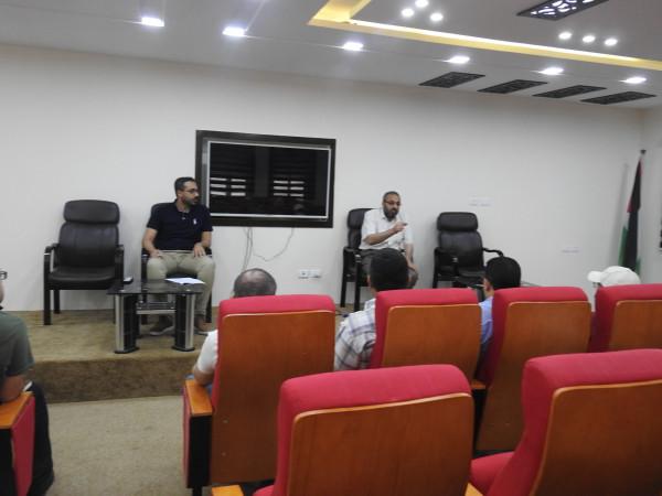 وحدة التخطيط تنظم ورشة عمل لمدراء قطاع الترخيص