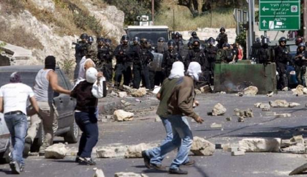 إصابات بالرصاص والاختناق خلال مواجهات مع الاحتلال بقلقيلية ونابلس