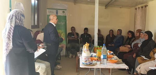 انطلاق الدورة التدريبية في الزراعة البيئية في بلدة سوسيا