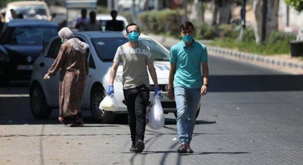 انخفاض أعداد الإصابات بفيروس (كورونا) في قطاع غزة