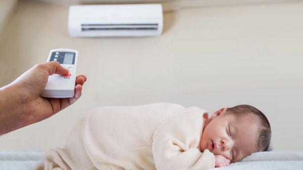 هل يعتبر مكيف الهواء آمن على الأطفال؟