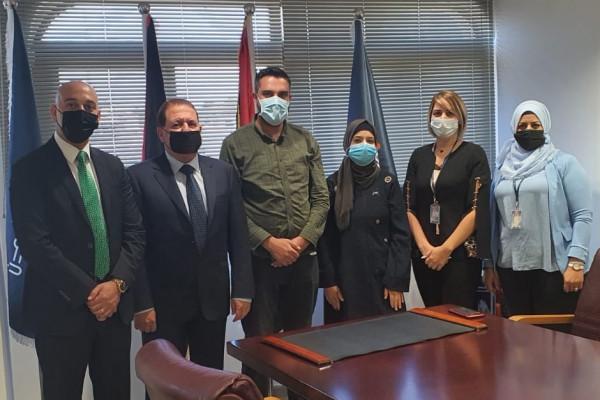 """بنك الأردن يختتم حملة تطعيم موظفيه ضد """"كورونا"""""""