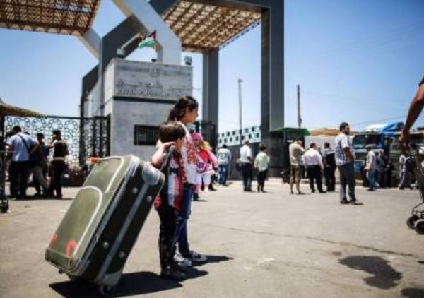 """غزة: كشف """"تنسيقات مصرية"""" للسفر عبر معبر رفح يوم الأربعاء"""