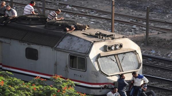 وزارة الصحة المصرية تعلن عدد مصابي قطار الإسكندرية
