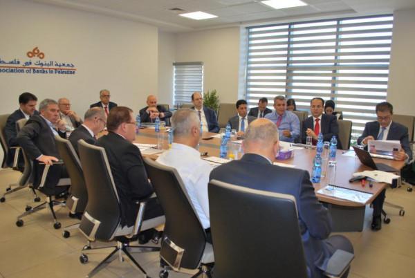 """""""جمعية البنوك في فلسطين"""" تختتم ورشة التخطيط الاستراتيجي العام"""