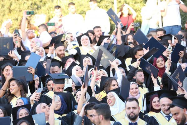 جامعة بيت لحم تستكما احتفالاتها بتخريج الفوج 45 من طلبتها
